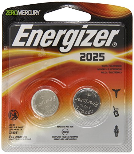 Energizer 2025BP 2 Lithium Button Battery