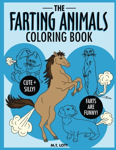 The Farting Animals Coloring Book Gifts For Kids