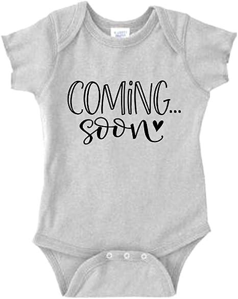 Coming soon Baby announcement Onesie