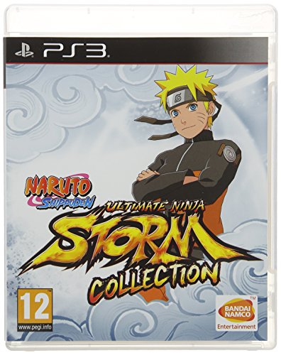 NARUTO NINJA STORM COLLECTION (Naruto Video Games Ps3)