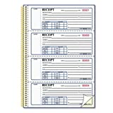 Money Receipt Book, 7 x 2 3/4, Carbonless Duplicate, Twin Wire, 300 Sets/Book by Rediform®