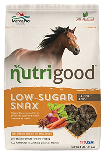 Nutrigood Low-Sugar Snax for Horses, Carrot/Anise