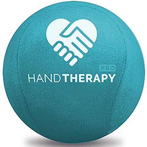 Stress Ball Hand Therapy Gel Squeeze Ball for Hand Stress and Therapeutic Relief, Grip Strength, Hand Mobility and Restoration Teal 6.0cm