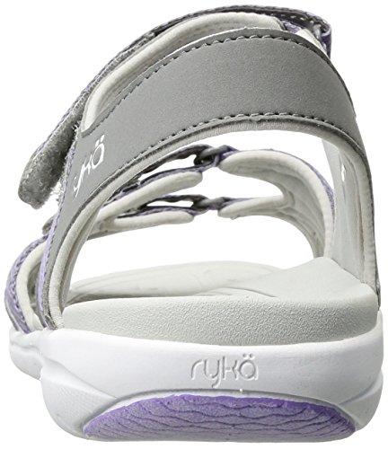 Grey Purple Savannah Sandal Women's Ryka Y4Xqzz