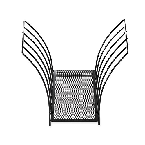 Rolodex Mesh Collection Butterfly File Holder, Letter-Size, Black (1742326) ()
