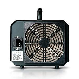 Enerzen Commercial Ozone Generator 6,000mg Industrial O3 Air Purifier Deodorizer Sterilizer (6,000mg – Black)
