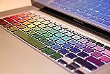 Rainbow Macbook Keyboard Decal Humor Sticker Art Protector