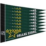 Rico NHL Stars 8 Pc Mini Pennant Pack Sports Fan Home Decor, Multicolor, One Size