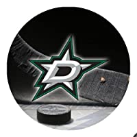 Stars Hockey Round Mousepad Mouse Pad Great Gift Idea Dallas
