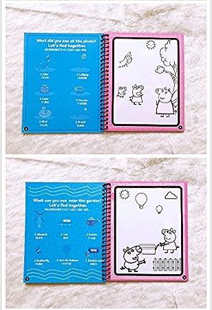 Amazon.com: Tango - Libro de acuarela con bolígrafo de agua ...