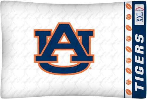 NCAA Auburn Tigers Micro Fiber Pillow Case Logo Auburn Tigers Ncaa Bedding