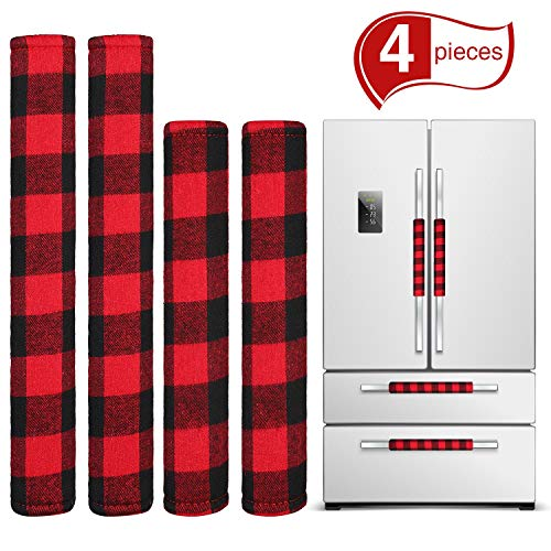 red and black appliances - 1