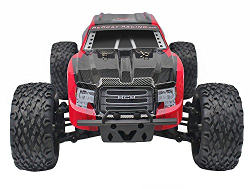 Redcat Racing Blackout XTE 1/10 Scale Electric Monster Truck with Waterproof Electronics, Red by Redcat Racing (Image #3)