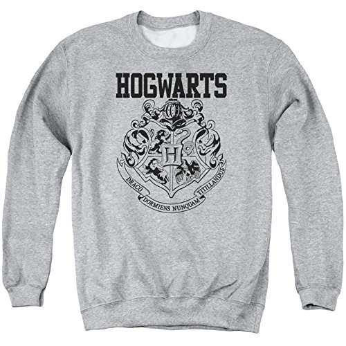 Crewneck Sweatshirt: Harry Potter- Hogwarts Athletic Size S