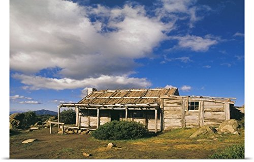 great-big-canvas-poster-print-entitled-craigs-hut-man-from-snowy-river-cottage-australia