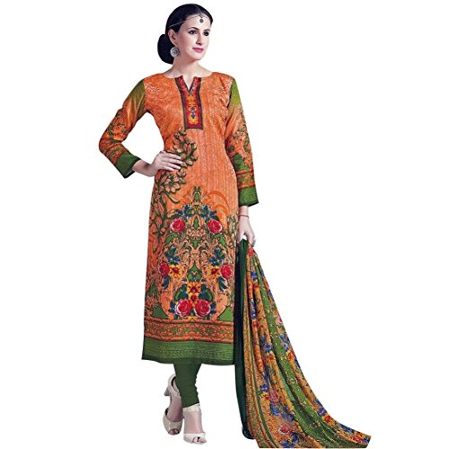 Ready Made Ethnic Karachi Style Printed Cotton Salwar Kameez India