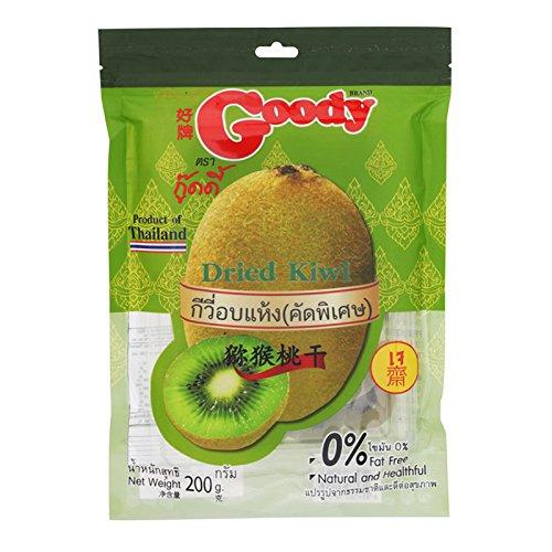 Goody, Dried Kiwi, net weight 200 g (Pack of 1 piece) / Beststore by KK8