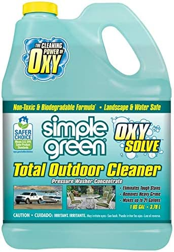 Best Overall Deck cleaner: Simple Green Oxy Solve Outdoor Cleaner