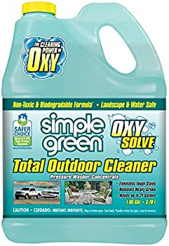 Oxy Solve Total Outdoor Pressure Washer Cleaner - Removes Stain