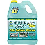 Oxy Solve Total Outdoor Pressure Washer Cleaner - Removes Stains, Mold, and Dirt on Patios, Furniture, RVs, Vehicles, Boats –