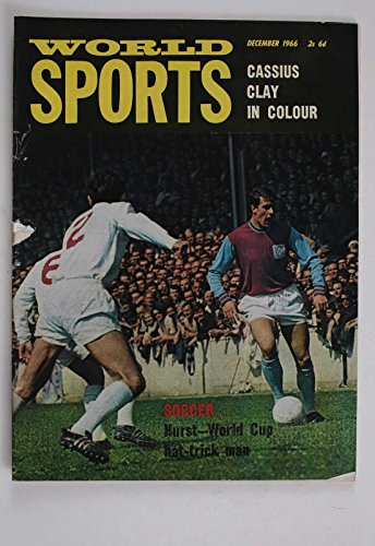 WORLD SPORTS 1966 CASSIUS CLAY SOCCER WORLD CUP