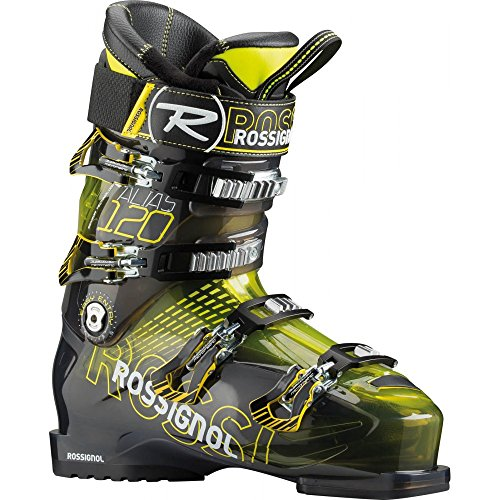 - Rossignol Men's Alias Sensor 120 Yellow Transparent All Mountain Ski Boot - 24.5