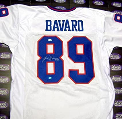 1ae73de73 Autographed Mark Bavaro Jersey - Super Bowl Champion JSA Certificate  Hologram Road White XL - Autographed NFL Jerseys at Amazon's Sports  Collectibles Store