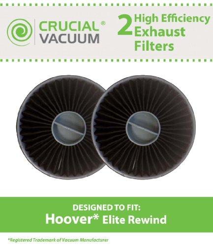 2 Allergen Exhaust Filters for Hoover