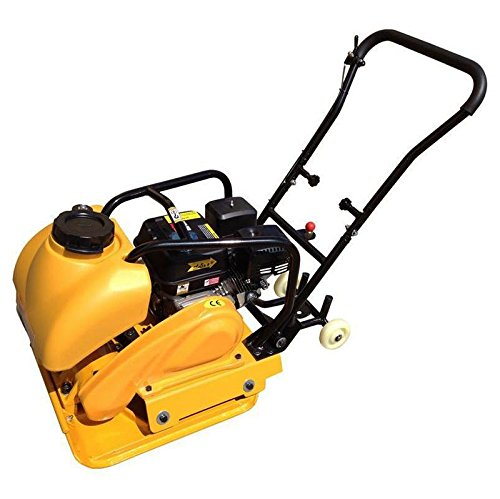 Wowdeal 6.5HP Plate Compactor With Water Tank