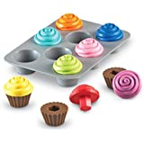 Learning Resources Smart Snacks Shape Sorting Cupcakes, Early Recognition, Fine Motor Toy, Ages 2+