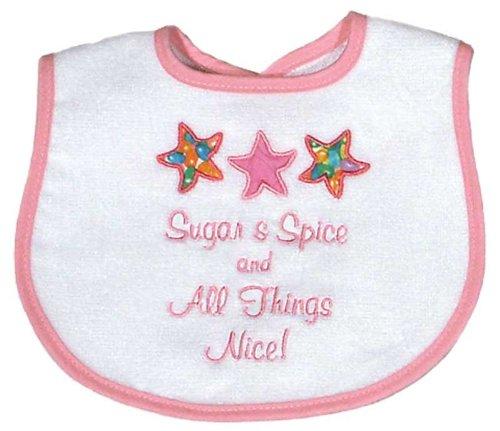 Spice Appliqued Bib, Pink ()