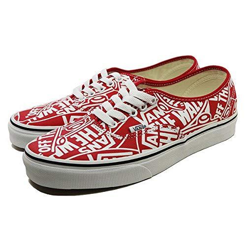 170f7674b0 Galleon - Vans Mens U Authentic OTW Repeat RED True White Size 10