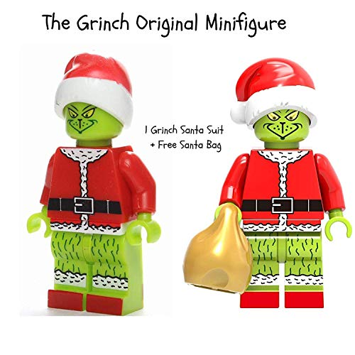 The Grinch Movie | Collectible Building Toys Party Favor Supplies Birthday Kids Gift Action Figure | Santa -
