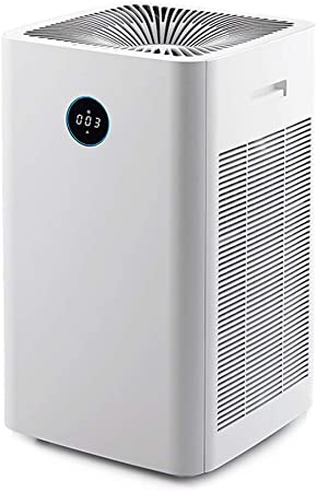 XMGJ Purificador de Aire Filtro de Hogares de Habitaciones eliminación de formaldehído Haze Olor del Humo del hogar Virus bacterias desinfección, Blanca (Color : White): Amazon.es: Hogar