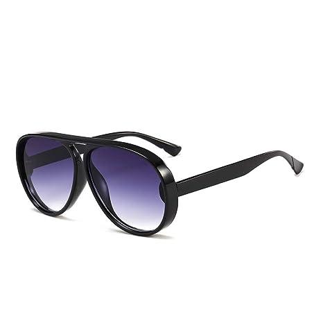 Yangjing-hl Gafas de Sol Mujer Caja Grande Gafas de Sol ...