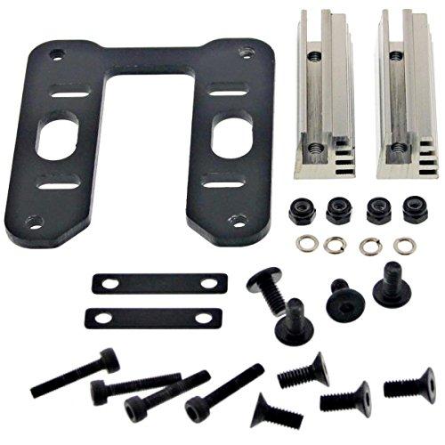 Hobao 1/8 Hyper 7 TQ Ofna ENGINE MOUNT PLATE, SCREWS, NUTS JL .28 Mac Force