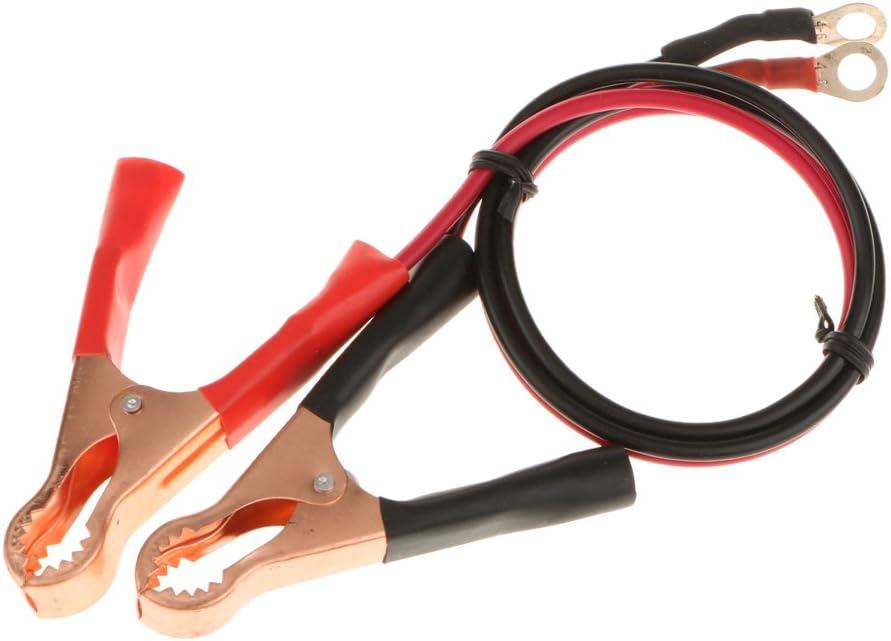 MagiDeal Paio Pinze A Coccodrillo Batteria 50amp Morsetto Inverter Alta Potenza