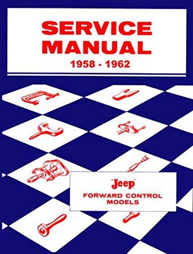 bishko automotive literature 1958 1960 1961 1962 Jeep Fc150 Fc170 Shop Service Repair Book Manual Engine OEM