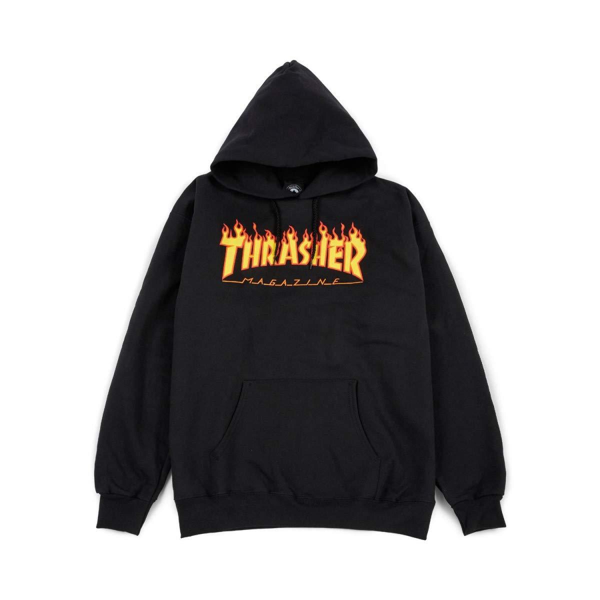 Hoodies - Thrasher Judge Hoodie - Black - Black - Small