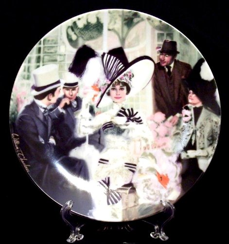 My Fair Lady Collector's Plate - Fine China - Eliza Doolittle At