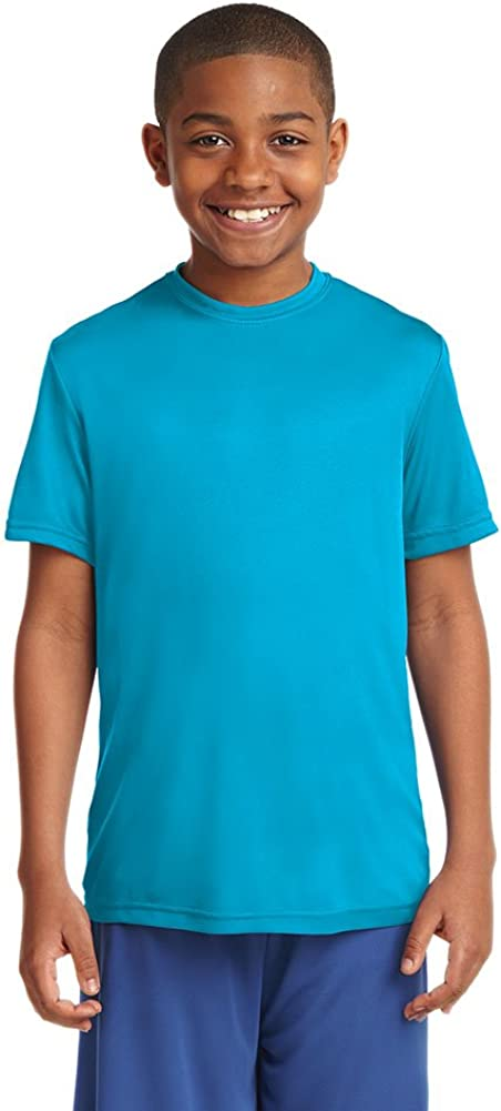 Dri-Wick Youth Sport Performance Moisture Wicking Athletic T-Shirt