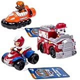 Paw Patrol Racers 3-Pack Vehicle Set, Ryder, Zuma, Marshall