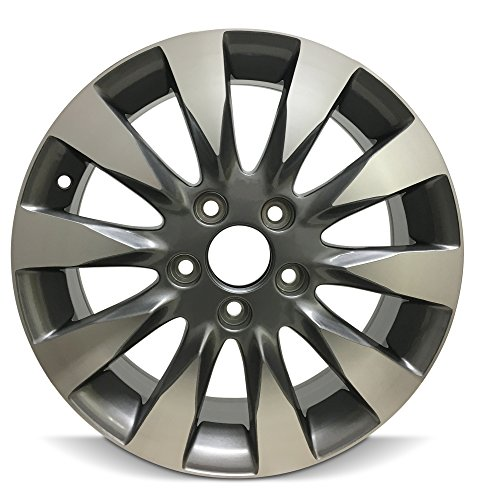 - Road Ready Car Wheel For 2009-2011 Honda Civic 16 Inch 5 Lug chrome Aluminum Rim Fits R16 Tire - Exact OEM Replacement - Full-Size Spare