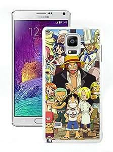 Fashion Designed One Piece 19 White Samsung Galaxy Note 4 N910A N910T N910P N910V N910R4 Phone Case