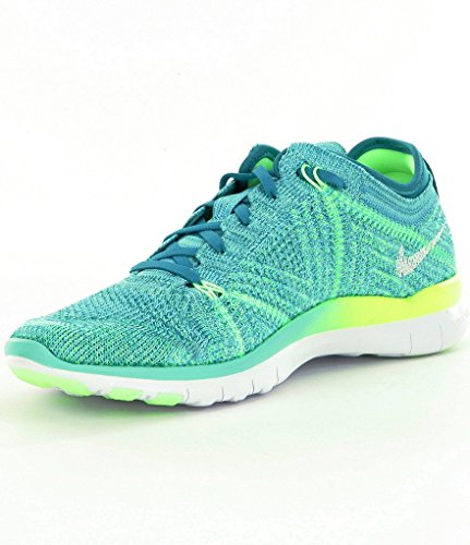 nike-womens-free-tr-flyknit-running-shoes-7-hyper-turq-energy-ghost-green-white
