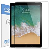 #6: iPad Pro 12.9 inch Screen Protector Glass, Maxboost Tempered Glass Screen Protector for 12.9-inch iPad Pro 2017 (1-Pack) [Case Friendly] Apple Pencil Compatible 0.3mm 2.5D Rounded Edge Anti-Scratch