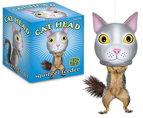 Archie McPhee Cat Head Squirrel Feeder by Archie McPhee