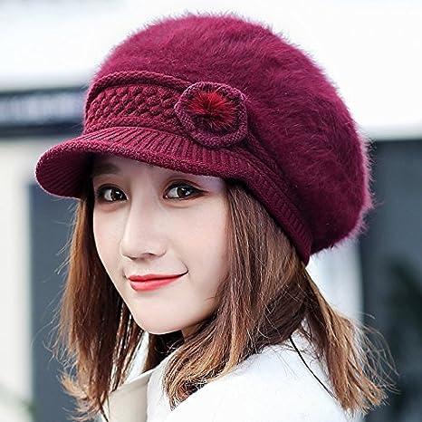 Wenxin0815 Sombreros, Gorras, Sombreros Y Gorras Tejidas Sombrero ...