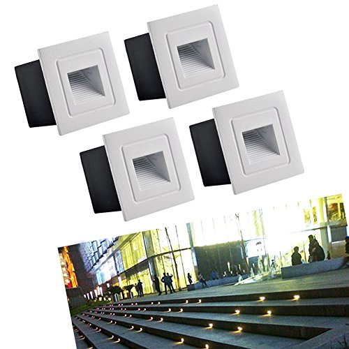 Exterior Recessed Led Wall Light in Florida - 1
