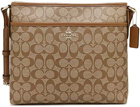 New Coach F58297 Signature File Bag Crossbody